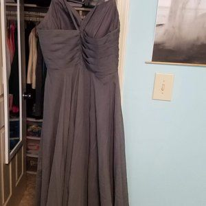 Dresses - Never Worn Stunning Gray Bridesmaid dress